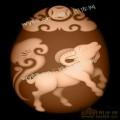 生肖羊-明清家具精雕图案