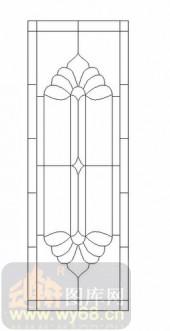 艺术玻璃图-12镶嵌-优美花纹-00028