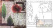 玻璃雕刻-肌理雕刻系列1-花叶-00140