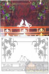 05肌理雕刻系列样图-葡萄架-00081-艺术玻璃图库