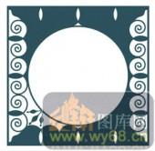 欧式镂空装饰001-圆圈-欧式镂空装饰001-052-屏风