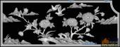 03-花鸟-061-花鸟精雕灰度图