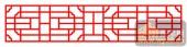 中式镂空装饰001-子午花-中式镂空装饰001-063-隔断墙效果图