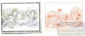 2011设计艺术玻璃刻绘-荷花3-喷砂玻璃图库