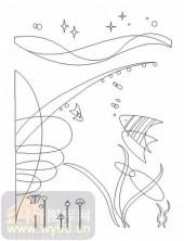玻璃门-10格子门-奇幻鱼-00020
