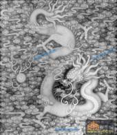 02-龙戏-034-雕刻灰度图