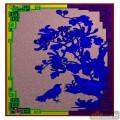 鸟 回字纹 短沙发靠背菊花-电脑雕刻素材