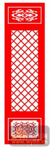 中式镂空装饰001-网格-中式镂空装饰001-059-木板雕刻
