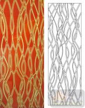 05肌理雕刻系列样图-波浪线-00180-雕刻玻璃图案