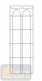 喷砂玻璃图库-12镶嵌-几何线条-00038