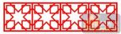 镂空装饰单式001-正方形花纹-镂空装饰单式001-045-吧台