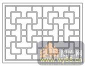 镂空装饰组合式-线条-镂空装饰组合式-015-镂空矢量图