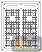 镂空装饰组合式-优雅-镂空装饰组合式-017-玄关隔断