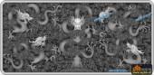01-龙-065-龙凤灰度图案