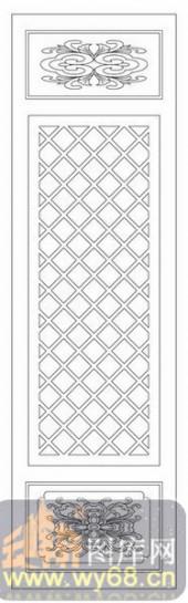 镂空装饰单式002-菱形花纹-镂空装饰单式002-058-隔断