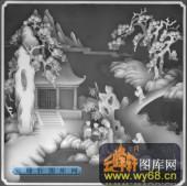 百子图001-童戏-上柜4-浮雕灰度图