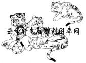 虎1-矢量图-生龙活虎-19-电子版虎