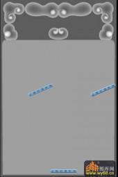 01-花纹框-054-玉雕灰度图案