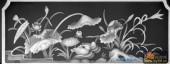 03-荷花-088-花鸟浮雕灰度图