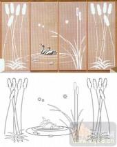 滑动门系列2-天鹅芦苇-00010