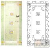 2011设计艺术玻璃刻绘-春讯-装饰玻璃