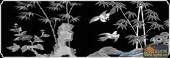 02-比翼双飞-055-花鸟浮雕图库