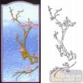 12梅兰竹菊-红梅-00019-喷砂玻璃