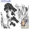 2010.4.3迎客松-白描图-广迎四海-yks008-迎客松线描图