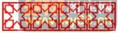 镂空装饰单式002-X型花纹-镂空装饰单式002-048-镂空雕刻模板下载