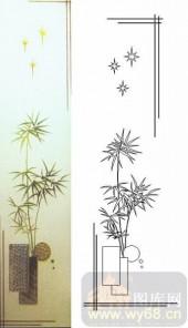 07精雕冰凌系列样图-绿竹-00007-玻璃雕刻