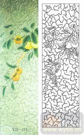玻璃门-肌理雕刻系列1-硕果-00151