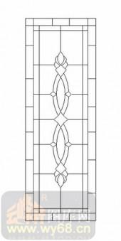 雕刻玻璃-12镶嵌-艺术花纹-00018