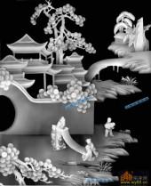 琴棋书画003-书画-画copy-琴棋书画灰度图