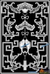 鱼图-鲤鱼-023-蝙蝠鱼浮雕图库