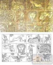 05肌理雕刻系列样图-古埃及-00110-玻璃雕刻