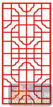 镂空装饰单式002-云纹-镂空装饰单式002-027-镂空雕花板