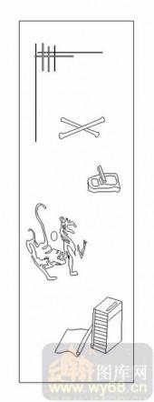 02古文化系列-文房四宝-00069-喷砂玻璃