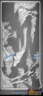 04-野雉-006-花鸟灰度图