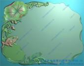 精品青蛙茶盘图