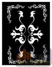 镂空装饰组合式-奢华花纹-镂空装饰组合式-048-玄关隔断