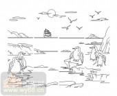 玻璃门-08四扇门(4)-企鹅-00029