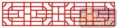镂空装饰单式002-博古花纹-镂空装饰单式002-062-镂空屏风效果图